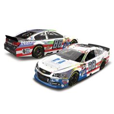 Dale Earnhardt Jr. Action Racing 2017 #88 Nationwide 25th Career Win 1:24 Monster Energy NASCAR Cup Series Die-Cast Chevrolet SS