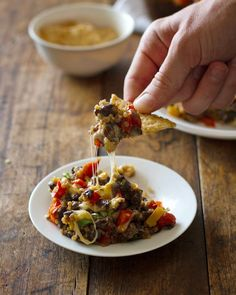 "Southwestern Quinoa and Black Bean Casserole: use olive or canola oil = 1/3 tsp. oil per serving of 1/9 recipe, use FF cheese (or RF and count), spray top of casserole just before baking to help FF cheese to melt; to serve see pin for ""DIY Baked Corn Chips"" on my board ""Condiments & Cooking Ingredients -- WW SFT"""