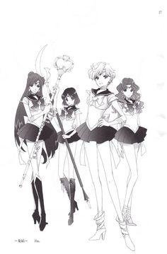 Sailor Moon/ Outer Senshi