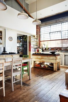 Loft Living: Inside Nina & Patrick's Warehouse Apartment from Offspring