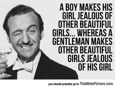 A Real Gentleman Knows, more reason's to love him