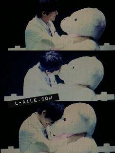 ε엘의날개з @L_aile_com 12m 131030 OGS in Shanghai #명수 오늘의 How to Kiss  pic.twitter.com/oI6X4KOaVo