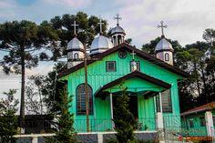 Igrejas ucraniana na zona rural de Prudentópolis