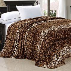 Love this Leopard Safari Flannel Fleece Blanket by BNF Home Inc. Linen Bedding, Bedding Sets, Bed Linens, Cheetah Print Bedroom, Home Renovation, Home Remodeling, Animal Print Rooms, Animal Prints, Leopard Prints
