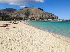 Mondello Beach, Sicily #mondello #sicilia #sicily