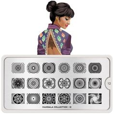Mandala Collection Nail Art, Stamping Plate Design | MoYou London