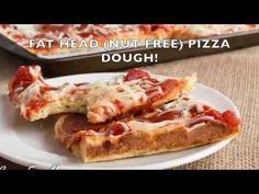 Grain Free Nut Free Low Carb Pizza dough fathead plus coconut flour