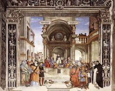 Filippino Lippi -Triumph of St Thomas Aquinas - 1488-93