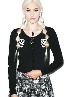 Iron Fist Misfits Cropped Cardigan