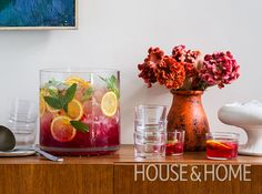 Pomegranate Rum Punch | Photo: Donna Griffith