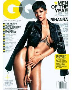 Rihanna, GQ Cover