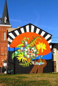 1000 images about baltimore 39 s street artwork on pinterest for Malcolm x mural