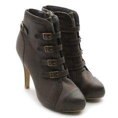 Ollio Women's Faux Suede Fashion Ankle Boots Buckle Lace Ups High Heel Shoes Ollio, http://www.amazon.com/dp/B006T2KPOO/ref=cm_sw_r_pi_dp_lORPqb09DHYDJ