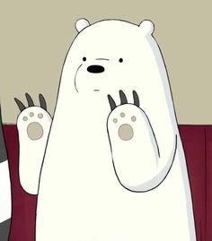 Read from the story Frases de Polar by AnnaNutt with reads. Happy Cartoon, Cartoon Pics, Cute Cartoon, Ice Bear We Bare Bears, 3 Bears, Bear Wallpaper, Cartoon Wallpaper, We Bare Bears Wallpapers, Cute Wallpapers
