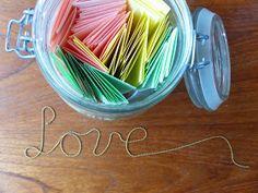 Sendsomeloveblog: Datejar / Pot vol dates