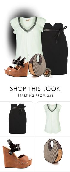 """TGIF - From Office to Happy Hour"" by jodilambdin ❤ liked on Polyvore featuring Yves Saint Laurent, ONLY, Chinese Laundry, Marc by Marc Jacobs, women's clothing, women's fashion, women, female, woman and misses"