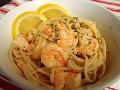 Krista's Kitchen: Shrimp Scampi