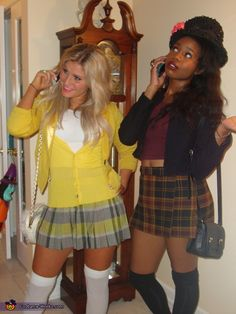 Clueless: Cher and Dion - 2013 Halloween Costume Contest