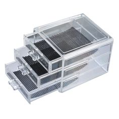 Urijk 3 Layers Transparent Acrylic Storage Drawer Makeup Organizer Jewelry Cosmetic Storage Box Home Sundries Holders Storage -in Storage Boxes & Bins from Home & Garden on Aliexpress.com | Alibaba Group