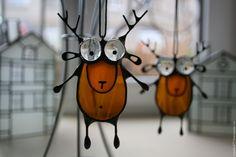 Goofy deer ornaments