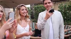 """Screenshoted from a Zoella vlog, """"HUGE SUMMER PARTY"""""""