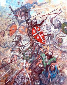 A Rus' heroic death, Mongol invasion of Russia