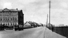 Tour Scotland Photographs: Old Photograph Hamilton Road Cambuslang Scotland