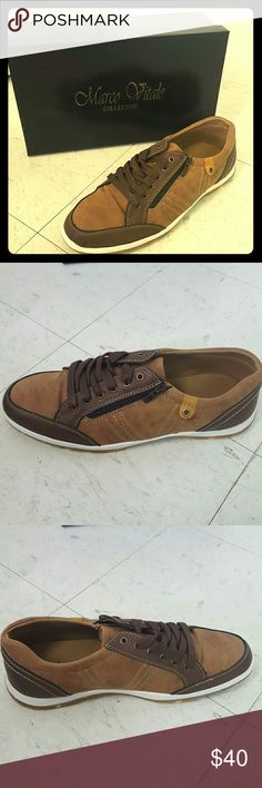 Mens brown casual sneaker size 11 Mens brown casual sneaker size 11 Marco Vitale Collezione  Shoes Sneakers