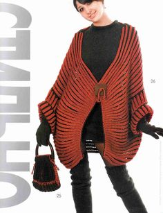 Patrón #1379: Chala a Dos Agujas   CTejidas [Crochet y Dos Agujas]