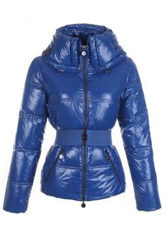 4a4b269a52e35 Moncler Aliso Designer Womens Down Jackets With Belt Dark Blue Jackets For  Women, Coats For