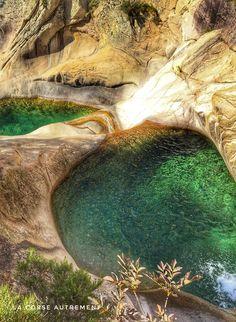 Cascades de Purcaraccia en Corse, , My Faforite - My Style, Africa Destinations, Amazing Destinations, Travel Destinations, Travel Necessities, Photos Voyages, Africa Travel, Great View, Travel Advice, Australia Travel