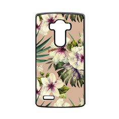 LG Case Gold Hibiscus Painting LG G3 Case LG G4 Case Phone Case lg phone case g4 case g3 case Phone Cover floral phone case summer phone by casematicus. Explore more products on http://casematicus.etsy.com