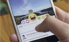 Facebook começa a testar uso das 'reações' em comentários