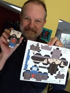 Jim Beaver as Bobby Singer, JIM IS ADORABLE .. I wish Bobby could come back..