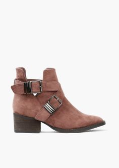 Broncho Taupe Booties//