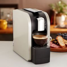Verismo™ 580 Brewer Silver  Make all your favorite Starbucks® beverages at the touch of a button, one cup at a time, with the new Verismo™ 580 Brewer. Every machine ships with a box of our Caffè Latte Pods and includes free ground shipping. $199.00   http://websites-buy.com/starbucks-coffee-store