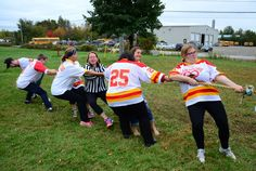 Campus Life Day 2014 - It was a beautiful day for some friendly tug-o-war