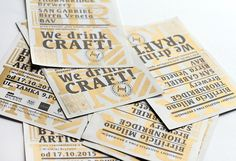 Identity for Heritage Birreria Artiginale in Warsaw. #logo #identity #graphicdesign #gold #beer #craftbeer