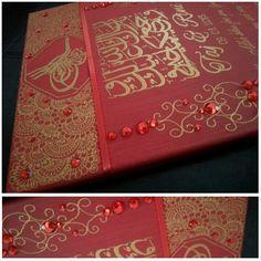 Henna work & gemstones. Desi weddings r all about henna! :)