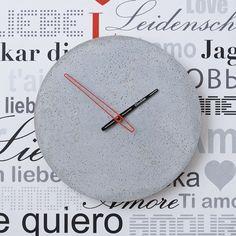 Betonové hodiny nástěnné - Clockies 1701
