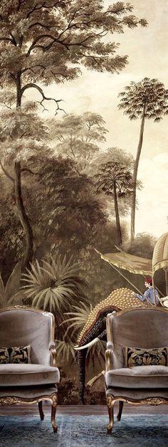British Raj Decor.