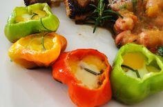 Pimentas Cambuci com Ovinhos de Codorna