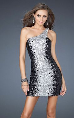 New Years Eve Dresses 2015 One Shoulder Prom Dress e2c8f0b55923