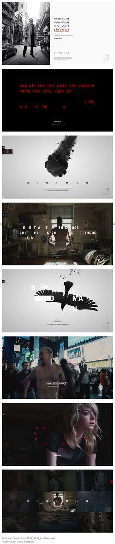 BiRDMAN MOVIE. LOVED IT.  My favorite film of the year. I loved Birdman