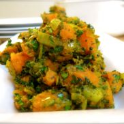 Curried Sweet Potato With Fresh Herbs