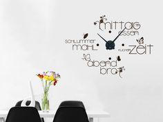 1000 ideas about wandtattoo uhr on pinterest. Black Bedroom Furniture Sets. Home Design Ideas