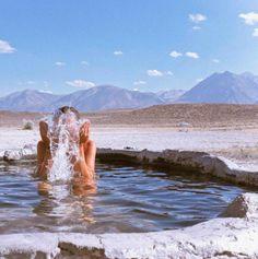 Mammoth Hot Springs, yellow stone (Loni Jane Anthony. Photo: Instagram)
