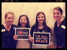 Braces fun in the family! - Nothing like getting braces on the same day as your sister!  Congratulations on starting this journey together, Brooklyn and Kaiya!