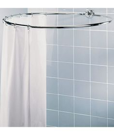 Buy Chrome Circular Shower Rail at Argos.co.uk - Your Online Shop for Shower curtains and poles.