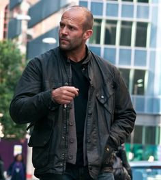 Blitz Geniune Leather Jacket  Jason Statham movies are certainly never boring and Blitz is no exception.One thing that Statham fans have always admired is his style, which stayed consistent even in this crime thriller movie. The film had an awesome story line. In this rugged police